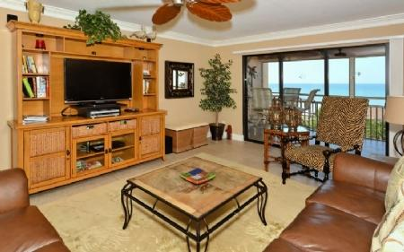 Living Area - Buttonwood 472 - Siesta Key - rentals