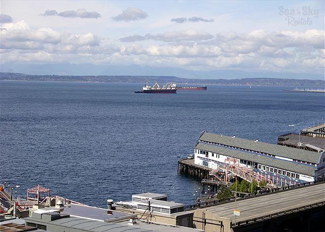 Amazing View! - Breathtaking sound view meets ideal downtown location at Harbor Steps - Seattle - rentals