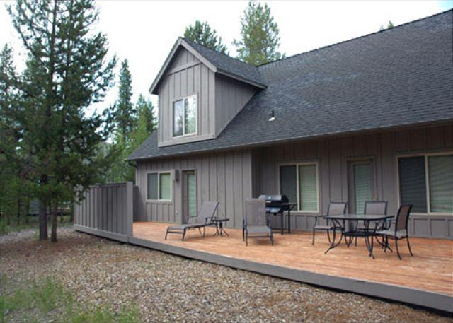 Backview - Popular Sunriver Home with Bonus Room and Foosball  Near North Store - Sunriver - rentals