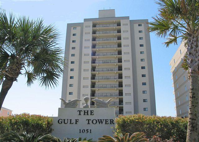 Gulf Tower - Gulf Tower 4C ~ Cozy Beachfront Condo with Pool - Gulf Shores - rentals