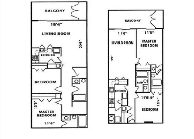 Gulf Tower Floor Plans - Beachfront Condo and Views to go along! Bender Vacation Rentals - Gulf Shores - rentals
