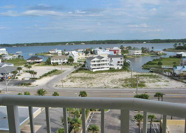 Bedroom 3 Balcony View - West Corner Beachfront Condo ~Bender Vacation Rentals - Gulf Shores - rentals