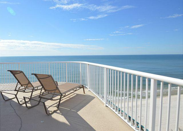 Balcony - Royal Palms 1407 ~Penthouse with Wraparound Balcony~Bender Vacation Rentals - Gulf Shores - rentals