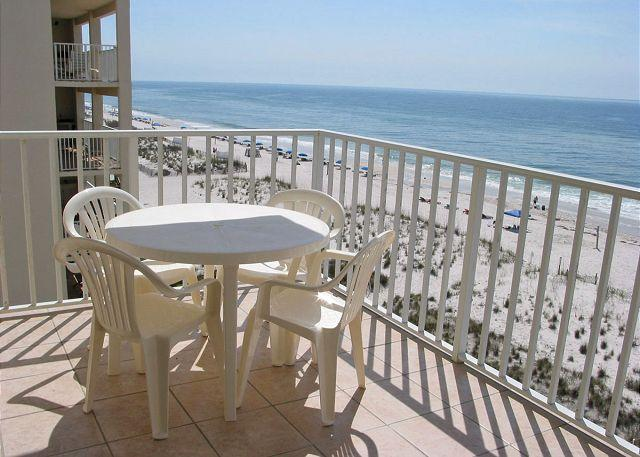 Balcony - Beachfront Condo with Amazing views ~ Bender Vacation Rentals - Gulf Shores - rentals