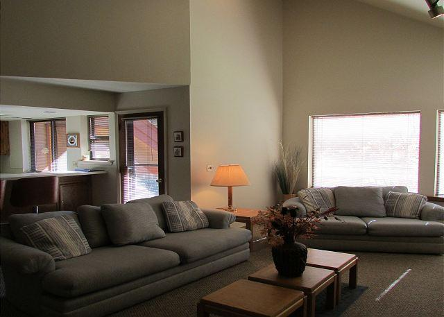 Living Room - Great condo on the Payette river. Walk to lake. - McCall - rentals