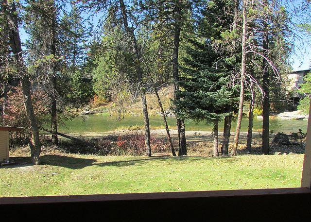 View of Payette River - Condo on the Payette River with seasonal pool and tennis courts. - McCall - rentals