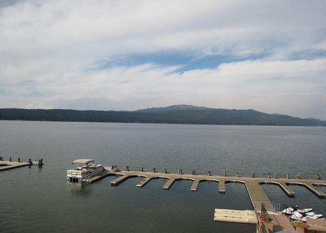 Boat Dock - Crystal Beach Condo on Payette Lake with Mountain Views - McCall - rentals