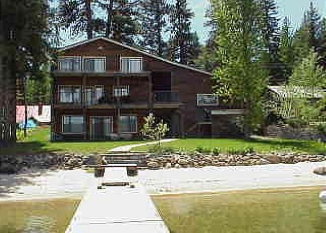 Large Lakefront Home with Private Dock, Sandy Beach and Hot Tub. - Image 1 - McCall - rentals