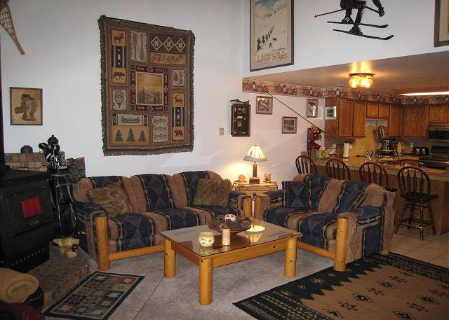 Mountain style condo, walk to down town and beach. - Image 1 - McCall - rentals