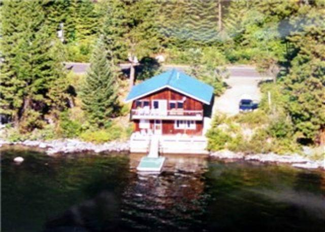 View - Huckleberry Rose- Lakeside with spectacular mountain views and private dock - McCall - rentals