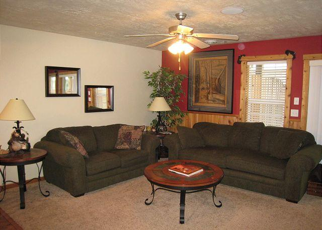 Living Room - Beautiful condo close to Ponderosa State Park and beach. - McCall - rentals