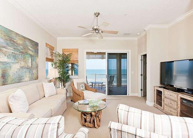 Plenty of room, and beautiful views - 551 Cinnamon Beach, 5th Floor OceanFront, HDTV Wifi, Updated - Palm Coast - rentals