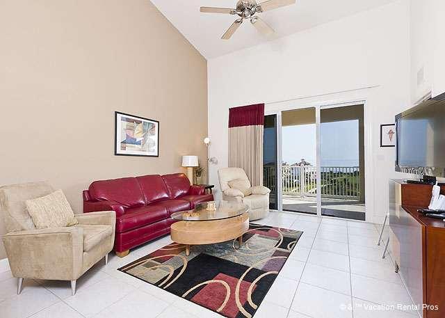 Cinnamon Beach 163 comfortably houses six people. - 163 Cinnamon Beach, Penthouse 6th Floor, elevator, 2 pools, wifi - Palm Coast - rentals