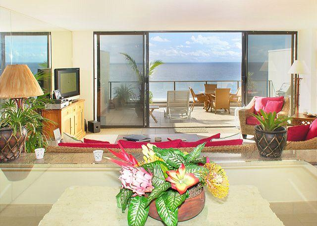 Pu'u Poa #305: Amazing Ocean Views. Watch the sun set in the Bali Hai Coast! - Image 1 - Princeville - rentals