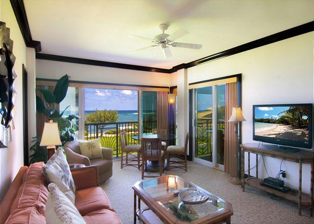 Waipouli #G-306: Enjoy tranquil sounds of Hawaii's Ocean while in every room! - Image 1 - Kapaa - rentals