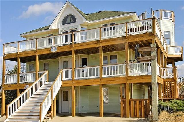 Front Elevation - Terrapin Station - Corolla - rentals