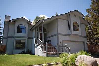 Exterior - 596 Danube Drive - South Lake Tahoe - rentals