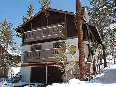 Tyrolian Style Exterior - 1233 Timber Lane - South Lake Tahoe - rentals