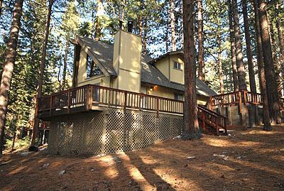 Exterior - 1426 June Way - South Lake Tahoe - rentals