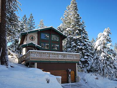 Exterior - 3411 Pine Hill Road - South Lake Tahoe - rentals