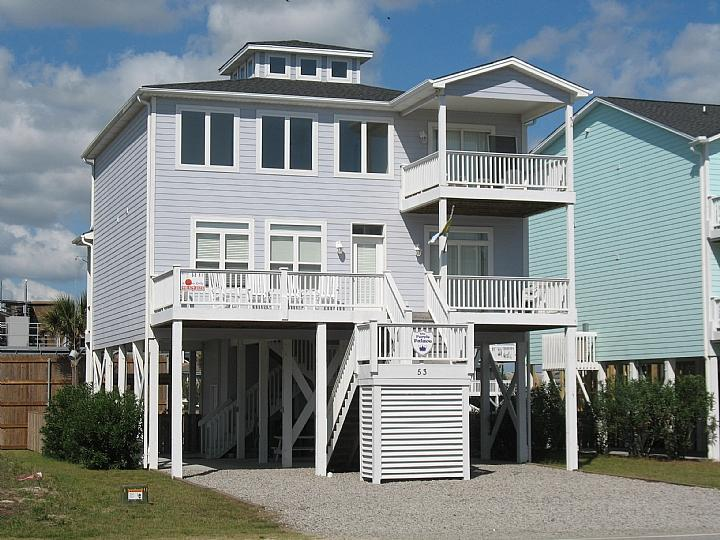 53 EAST FIRST STREET - East First Street 053 - The Purple Palace - Ocean Isle Beach - rentals