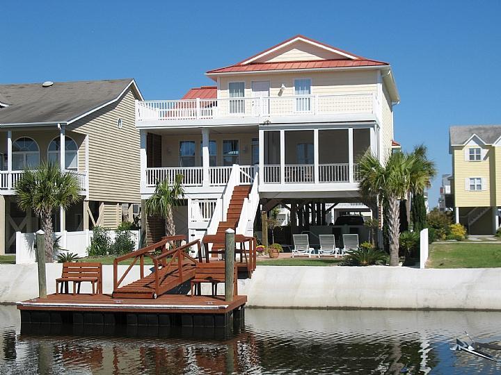 23 Leland Street canal side - Leland Street 023 - Kemeny - Ocean Isle Beach - rentals
