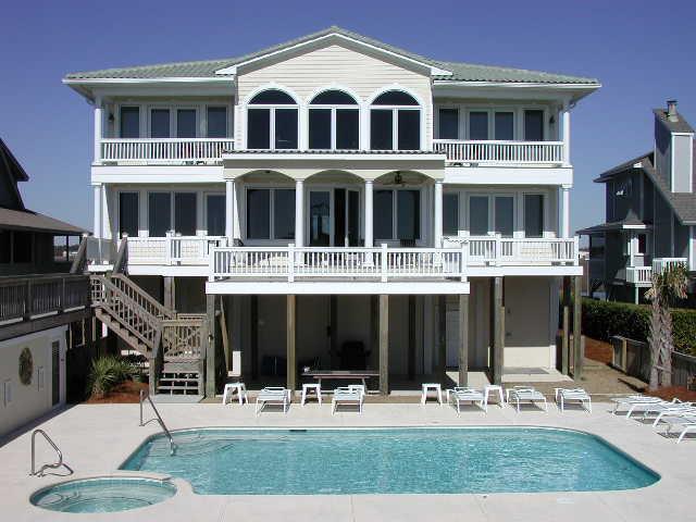 083 OIW Exterior - Ocean Isle West Blvd. 083 - Peace of Paradise - Howey - Ocean Isle Beach - rentals