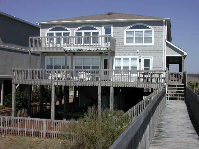 exterior oceanfront - Ocean Isle West Blvd. 133 - Miller Time - Ocean Isle Beach - rentals