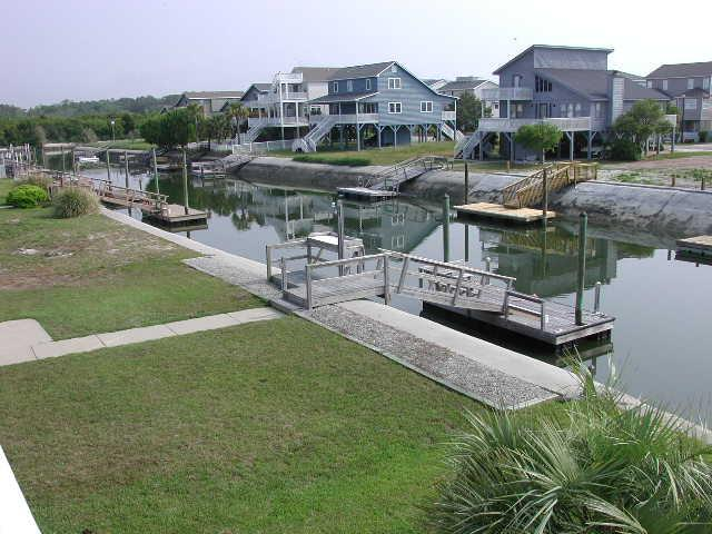 view from deck - Raeford Street 030 - Hales - Ocean Isle Beach - rentals