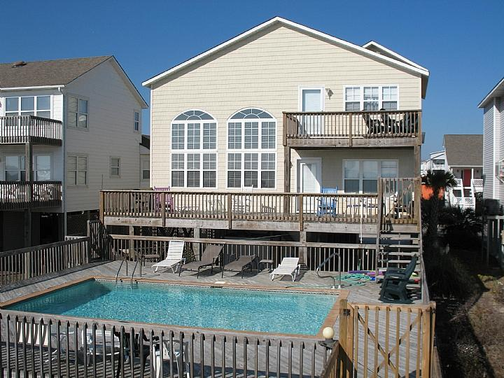 exterior 121 W1 - West First Street 121 - Foam Home - Nordan - Ocean Isle Beach - rentals