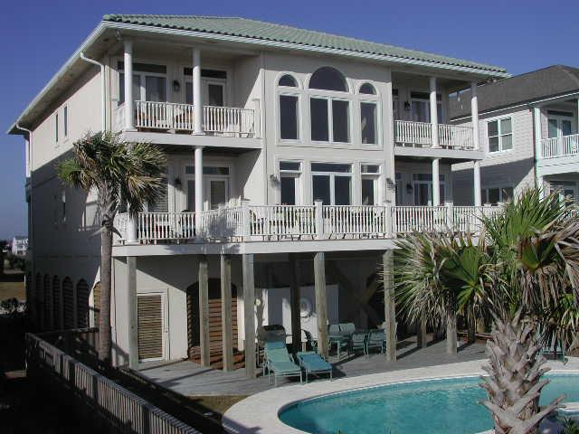 361W1exterior - West First Street 361 - Isle Be Seaing You - Ocean Isle Beach - rentals
