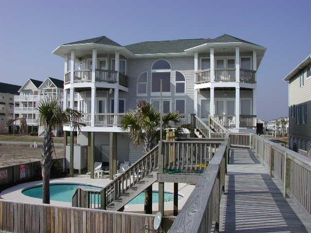 exterior - West First Street 367 - Vestal - Ocean Isle Beach - rentals
