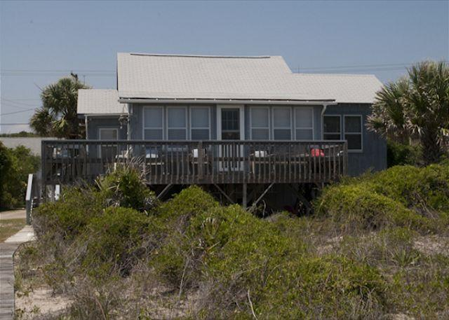 Glass House - Unique Beach Front Cottage - Image 1 - Edisto Island - rentals