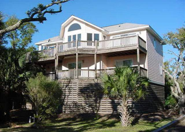 Exterior - Ocean Views and a Private Dock on Scott Creek, Edisto Island - Edisto Island - rentals