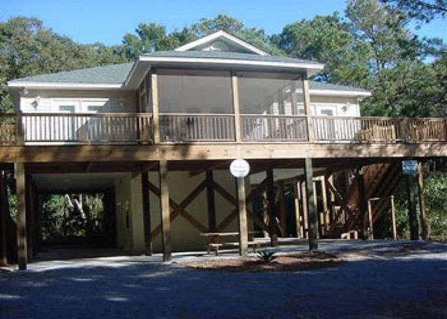 Exterior - Morillo's Miracle - Comfy,5FB Quiet Getaway Home on Edisto Beach - Edisto Island - rentals