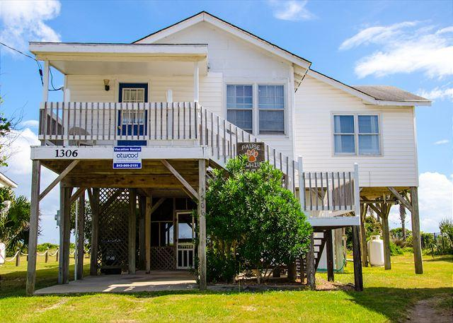 Pause A While - Classic Beach Front Family Home On Edisto - Image 1 - Edisto Island - rentals