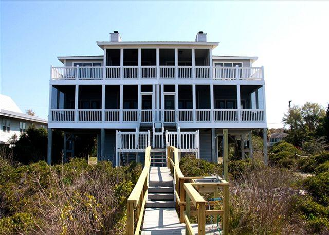 Pelican Pass - Beach Front, Sunset Views, Linens, & More - Image 1 - Edisto Island - rentals
