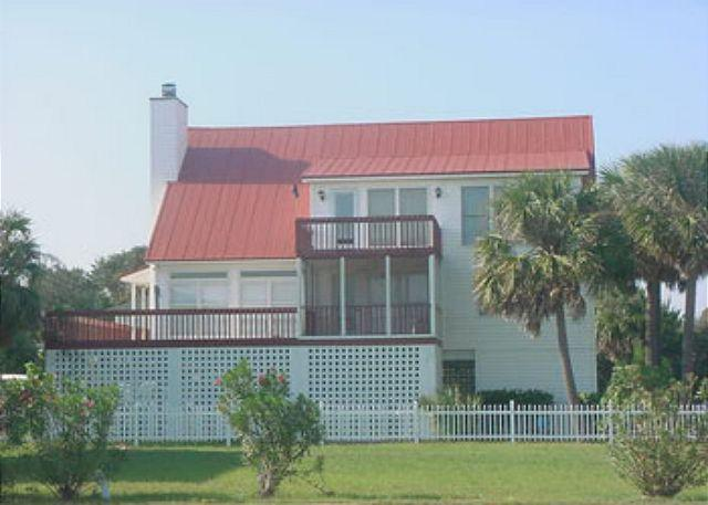 Exterior - Pop Pop's Place - Ocean Views, Screened Porch - Edisto Island - rentals