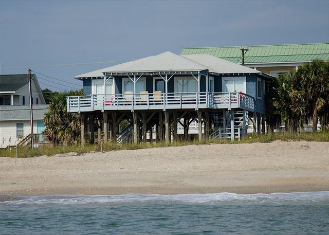 Sea Plus - 4 Bedroom Beach Front Home - Image 1 - Edisto Island - rentals