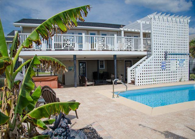 Edisto Oasis - Private Pool, Hot Tub, Beach/Ocean Front! - Image 1 - Edisto Island - rentals