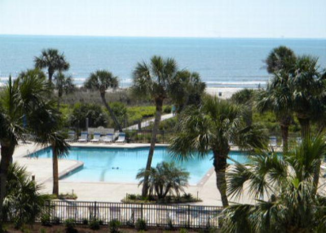 Balcony View - 3BR/3BA Ocean View Villa is Charming and Beautifully Decorated - Hilton Head - rentals