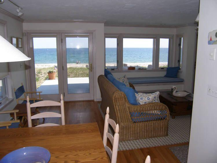 Enjoy the views from the dining area - 115 North Shore Blvd - East Sandwich - rentals