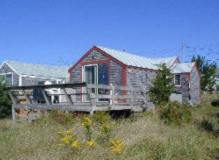 View from the marsh of the back of cottage - Beachland 14 - East Sandwich - rentals