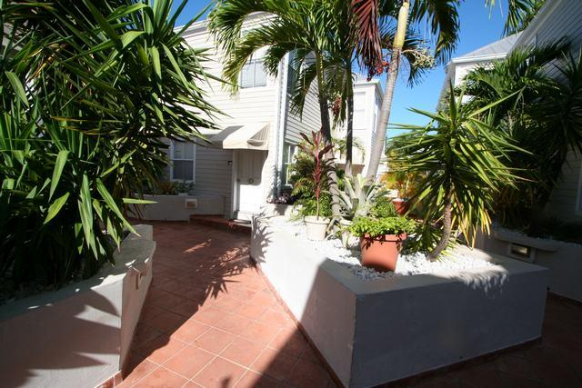 Entrance to Townhome - Duval Square - Key West - rentals