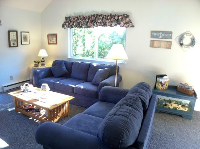 Living area - Ocean Edge Patio Syle with Central A/C & Pool Access - SU0244 - Brewster - rentals