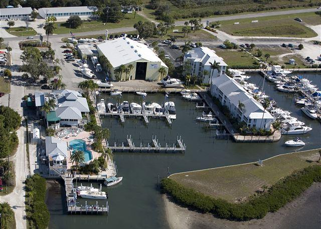 Views Across the Intracoastal of Palm Island - Marina Villa with Access to Palm Island Resort Services & Amenities - Cape Haze - rentals