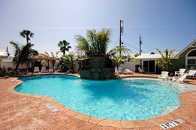 Refreshing Pool - Blue Lagoon 3 - Egret - Holmes Beach - rentals