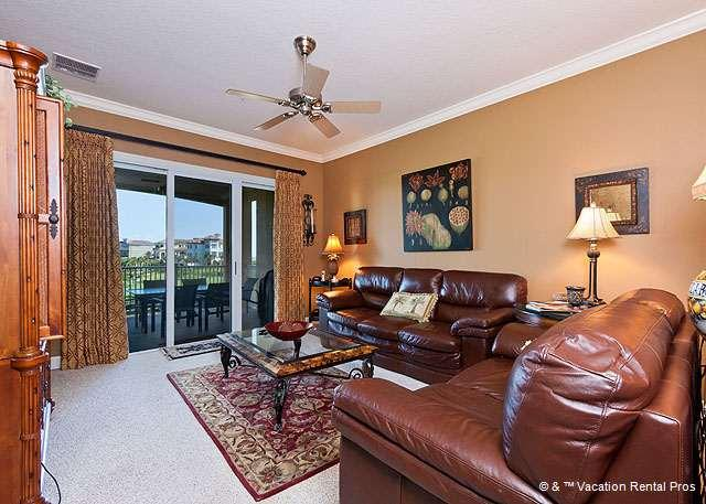 Cinnamon Beach 234 comfortably sleeps six people. - 234 Cinnamon Beach Condomiums, HDTV, Top Reviews, Elevator, Wifi - Palm Coast - rentals