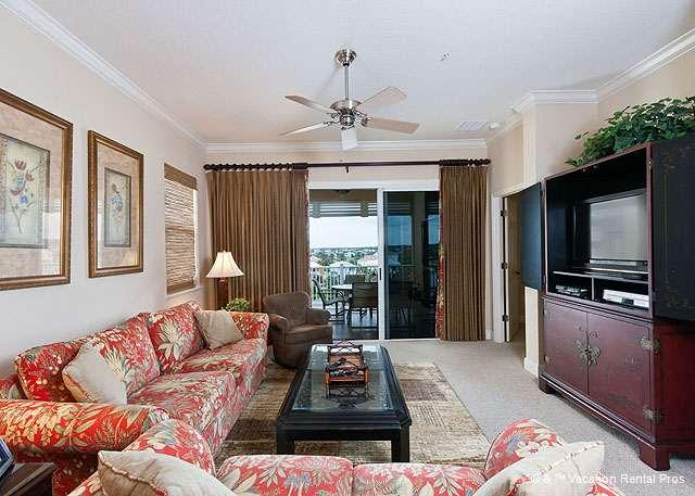 Cinnamon Beach 1151 comfortably houses eight people - 1151 Cinnamon Beach, 5th Floor, Elevator, Endless Views, Wifi - Palm Coast - rentals