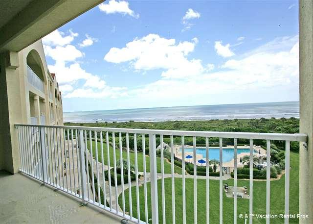 You'll never forget the magnificent views from the balcony! - Surf Club 2508, OceanFront, 5th Floor, Corner, Matanzas Shores - Palm Coast - rentals